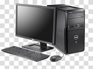 Dell Vostro Laptop Desktop Computers, computer desktop pc PNG clipart