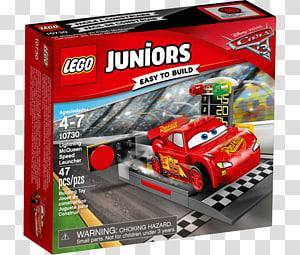LEGO 10730 Juniors Lightning McQueen Speed Launcher Cruz Ramirez Lego Juniors, toy PNG clipart