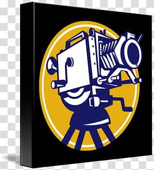 Film director Movie camera Television film, Camera retro PNG clipart