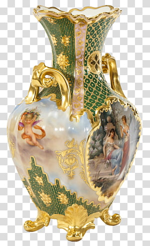 Vase Porcelain Antique, vase PNG