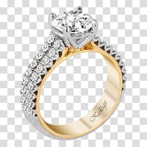 Wedding ring Engagement ring Jewellery, creative wedding rings PNG