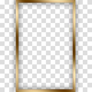 Square Text frame Angle Pattern, Golden square frame, rectangular gold frame PNG