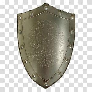 Kite shield Knight Buckler Sword, shield PNG