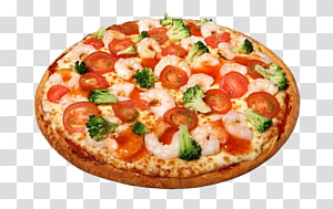 Pizza Margherita Seafood pizza Italian cuisine, Pizza PNG clipart