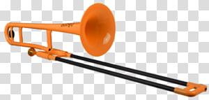 Trombone Musical Instruments Plastic Musician, trombone PNG