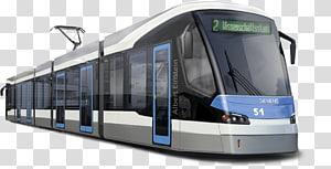 Trolley Trams in Vienna Rail transport Combino Passenger car, light rail PNG