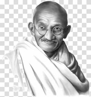 Mahatma Gandhi PNG