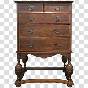 Bedside Tables Chest of drawers Chiffonier, table PNG