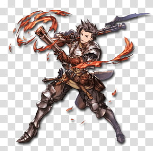 Granblue Fantasy Character Rage of Bahamut Game Anime, granblue female characters PNG clipart