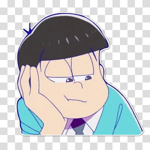 Osomatsu-kun Choromatsu Anime Telegram, osomatsu PNG