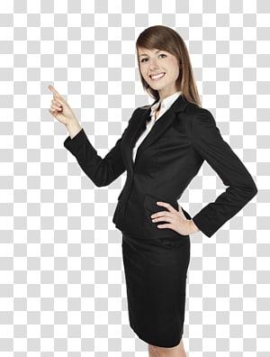 women's black blazer, Businessperson Management Organization, business woman PNG