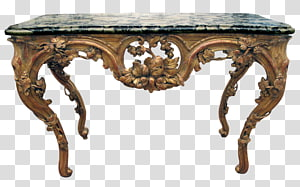 Bedside Tables Marble Wood Furniture, carved exquisite PNG