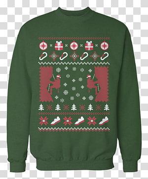 Christmas jumper T-shirt Hoodie Sweater, rock climbing PNG