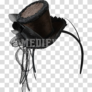 Top hat Headgear Bowler hat Fedora, steampunk gear PNG clipart