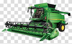 John Deere Combine Harvester Machine Tractor, johndeerecombine PNG
