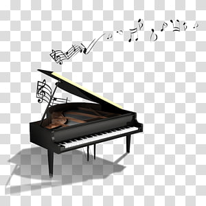 Piano Musical note , piano PNG