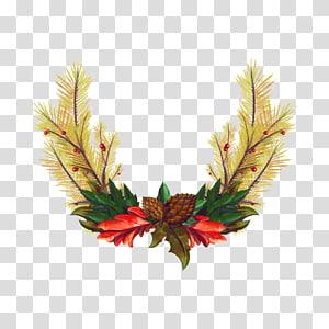 Christmas Wreath Garland Euclidean , Christmas Wreath PNG clipart