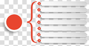 red and white list , Chart Euclidean Element, PPT business charts PNG clipart