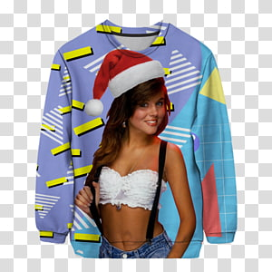 Kelly Kapowski Christmas jumper T-shirt Sweater, T-shirt PNG