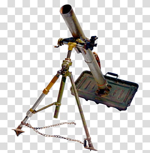 Weapon 81 mm mortar Brandt Mle 27/31 L16 81mm mortar, weapon PNG