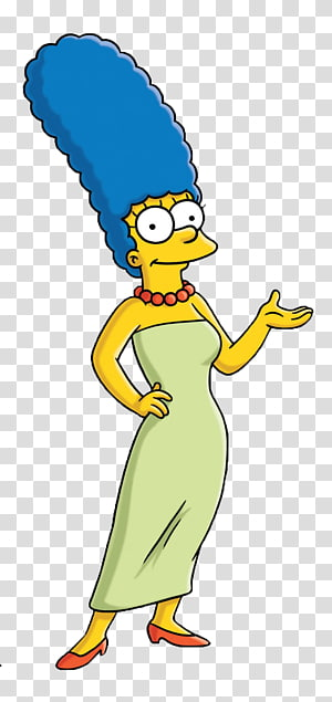 Marge Simpson, Marge Simpson Homer Simpson Lisa Simpson Maggie Simpson Bart Simpson, the simpsons PNG