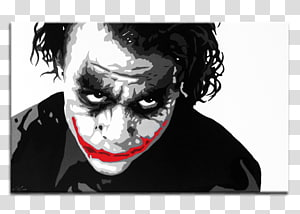Heath Ledger Joker The Dark Knight Alfred Pennyworth Actor, why so serious PNG clipart