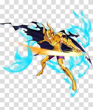 Capricorn Shura Pegasus Seiya Leo Aiolia Dragon Shiryū Aries Mu, capricorn PNG clipart