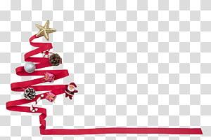 christmas ribbon PNG clipart