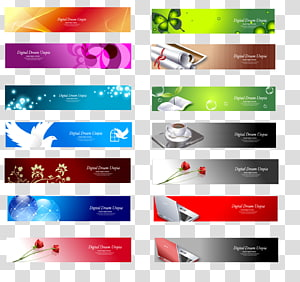 Web banner Web design Advertising, header PNG clipart