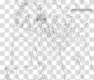 Itachi Uchiha Naruto Uzumaki Coloring book Sasuke Uchiha Line art, adam and eve in the garden of eden PNG