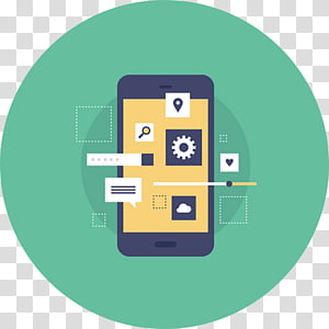 Mobile app development Android, Mobile App Template PNG