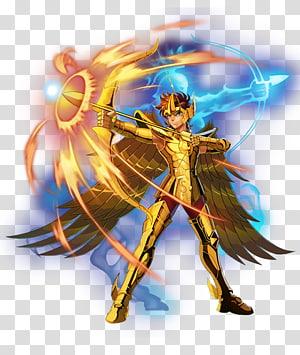 Sagittarius Aiolos Capricorn Shura Gemini Saga Pegasus Seiya Aries Mu, sagittarius PNG