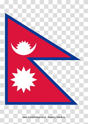 Flag of Nepal National flag , A4 Resume PNG