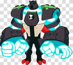 Four Arms Ben 10 Cartoon Network Television show Reboot, four arms heatblast PNG clipart
