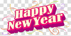 New Year\'s Day , Happy New Year PNG clipart