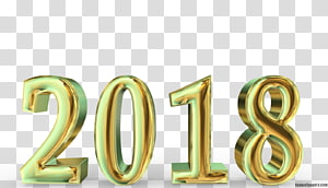 New Year\'s Day Desktop , 2018 PNG clipart