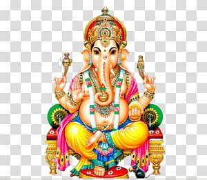 Lord Ganesha , Shiva Ganesha Parvati Kali Hinduism, God PNG