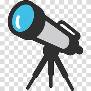 Emoji Telescope Miscellaneous Symbols and Pictographs, Valid PNG