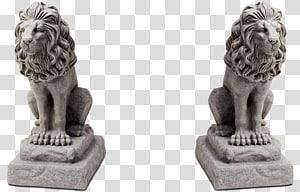 Lion Statue, lion PNG