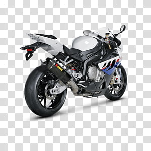 Exhaust system BMW S1000R Car Akrapovič, car PNG