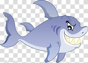 Shark, Cartoon shark PNG clipart