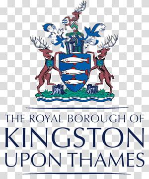 The Royal Borough Of Kingston Upon Thames logo, London Borough Of Kingston Upon Thames PNG