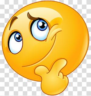 Emoticon Smiley , Emoji Question PNG