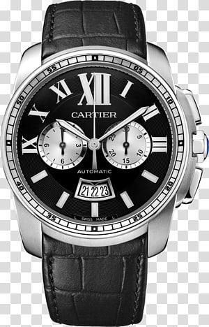Chronograph Cartier Calibre de Cartier Diver Watch Cartier Tank, watch PNG