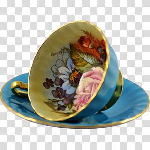 Saucer Tableware Porcelain Teacup, saucer PNG