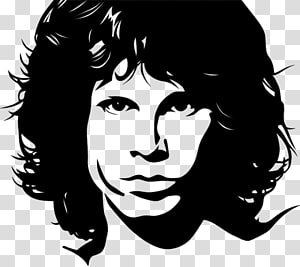 Jim Morrison The Doors Painting, painting PNG clipart