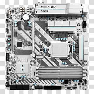 LGA 1151 microATX MSI H270M MORTAR ARCTIC Motherboard, others PNG clipart