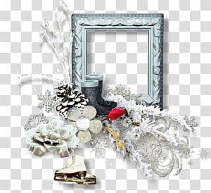 Frames Winter Email, scrap PNG