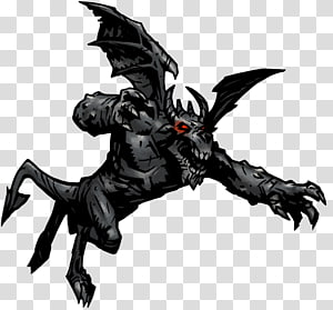 Darkest Dungeon Dungeon crawl Gargoyle Wiki Monster, monster PNG