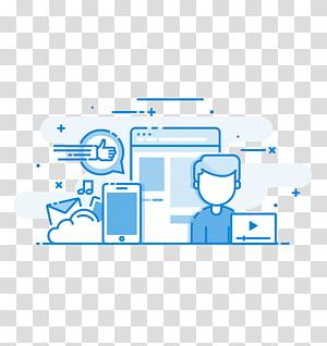Social media marketing Digital marketing Advertising, social media PNG